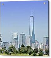 Nyc Skyline From The Park - Image 1666-01 Acrylic Print