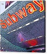 Nyc Subway Acrylic Print
