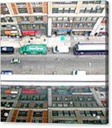 Nyc Urban Reflection Acrylic Print