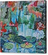 Nymph's Lily Pond- SOLD Acrylic Print