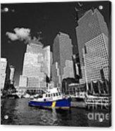 Nypd Blue  Acrylic Print by Rob Hawkins
