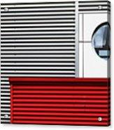 O & Lines. Acrylic Print
