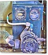 O2 Regulator Acrylic Print
