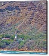 Oahu Lighthouse Acrylic Print