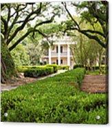New Orleans Oak Alley Plantation Acrylic Print