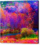 Oak Creek Acid 2 Acrylic Print