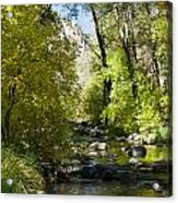Oak Creek Canyon Creek Arizona Acrylic Print