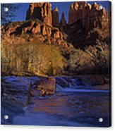 Oak Creek Crossing Sedona Arizona Acrylic Print