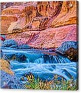 Oak Creek In The Spring Acrylic Print