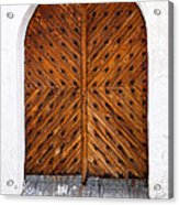 Oak Double Door Acrylic Print