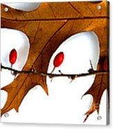 Oak With Berries Acrylic Print