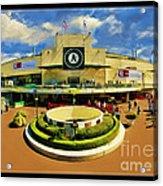 Oakland A's Coliseum Acrylic Print