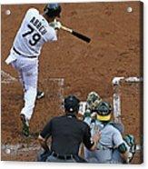 Oakland Athletics V Chicago White Sox Acrylic Print
