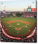 Oakland Athletics V Los Angeles Angels Acrylic Print