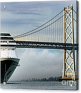 Oakland Bay Bridge  Acrylic Print