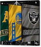 Oakland Sports Teams Acrylic Print