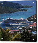 Oasis Of The Seas Acrylic Print
