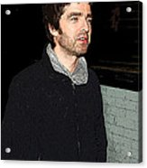 Oasis's Noel Gallagher Acrylic Print