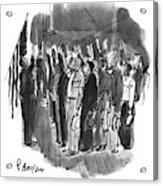 Oath Of Allegiance Acrylic Print