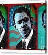 Obama-1 Acrylic Print