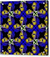 Obama Abstract 20130202m118 Acrylic Print