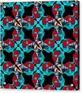 Obama Abstract 20130202m180 Acrylic Print
