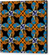 Obama Abstract 20130202p28 Acrylic Print by Wingsdomain Art and Photography