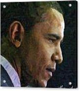 Obama1 Acrylic Print