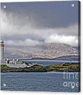 Oban Bay Lighthouse Acrylic Print