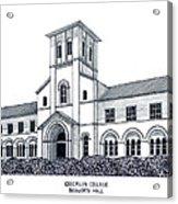 Oberlin College Acrylic Print by Frederic Kohli