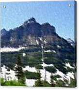 Oberlin Mountain Acrylic Print by Kevin Bone