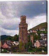 Oberwesel Am Rhein Acrylic Print