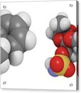 Obesity Drug Molecule Acrylic Print