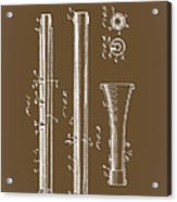Oboe Patent 1931 Acrylic Print