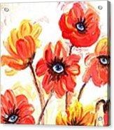 Observant Flowers 101 Acrylic Print