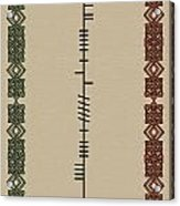 O'carroll Written In Ogham Acrylic Print