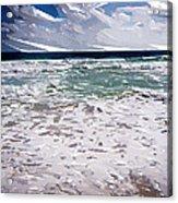 Ocean Abstract Acrylic Print
