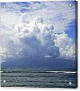 Ocean And Clouds Acrylic Print