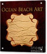 Ocean Beach Art Gallery Acrylic Print