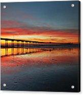 Ocean Beach California Pier 3 Acrylic Print