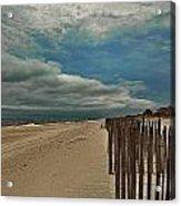 Ocean Beach Dunes Acrylic Print