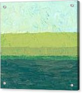 Ocean Blue And Green Acrylic Print