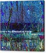 Ocean Blue Acrylic Print