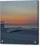 Ocean City New Jersey Sunrise Acrylic Print