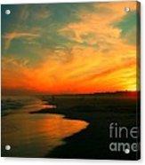 Ocean City Nj Sunset Acrylic Print