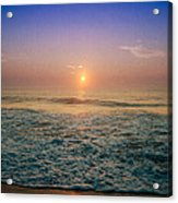 Ocean City Sunrise Acrylic Print