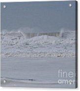 Ocean Curl Acrylic Print