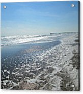Ocean Foam Acrylic Print