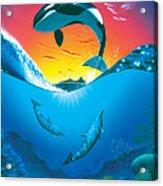 Ocean Freedom Acrylic Print
