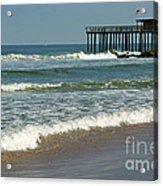 Ocean Grove Fishing Pier Acrylic Print